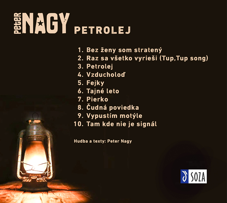 Petrolej je nové, autorské a profilové album …