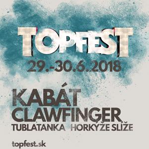 Na festivalu Topfest 2018 tento rok zažijete …