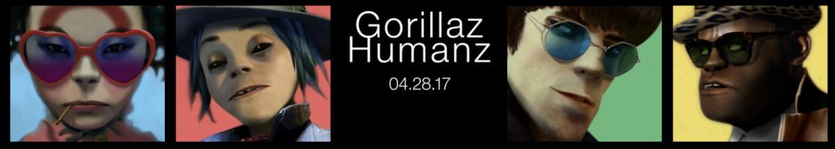 Humanz, skvělé nové album Gorillaz, vyšlo 28. …