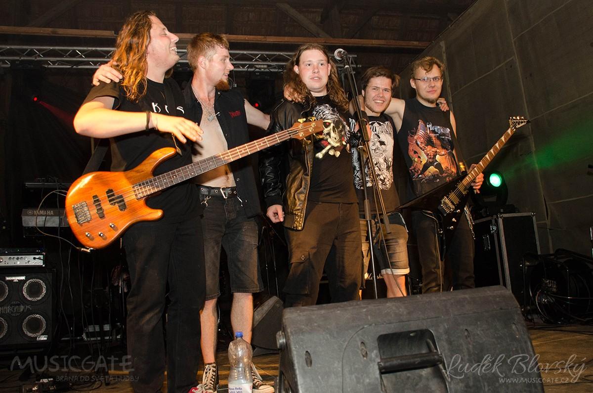 Závěr večera patřil mladému rockovému …