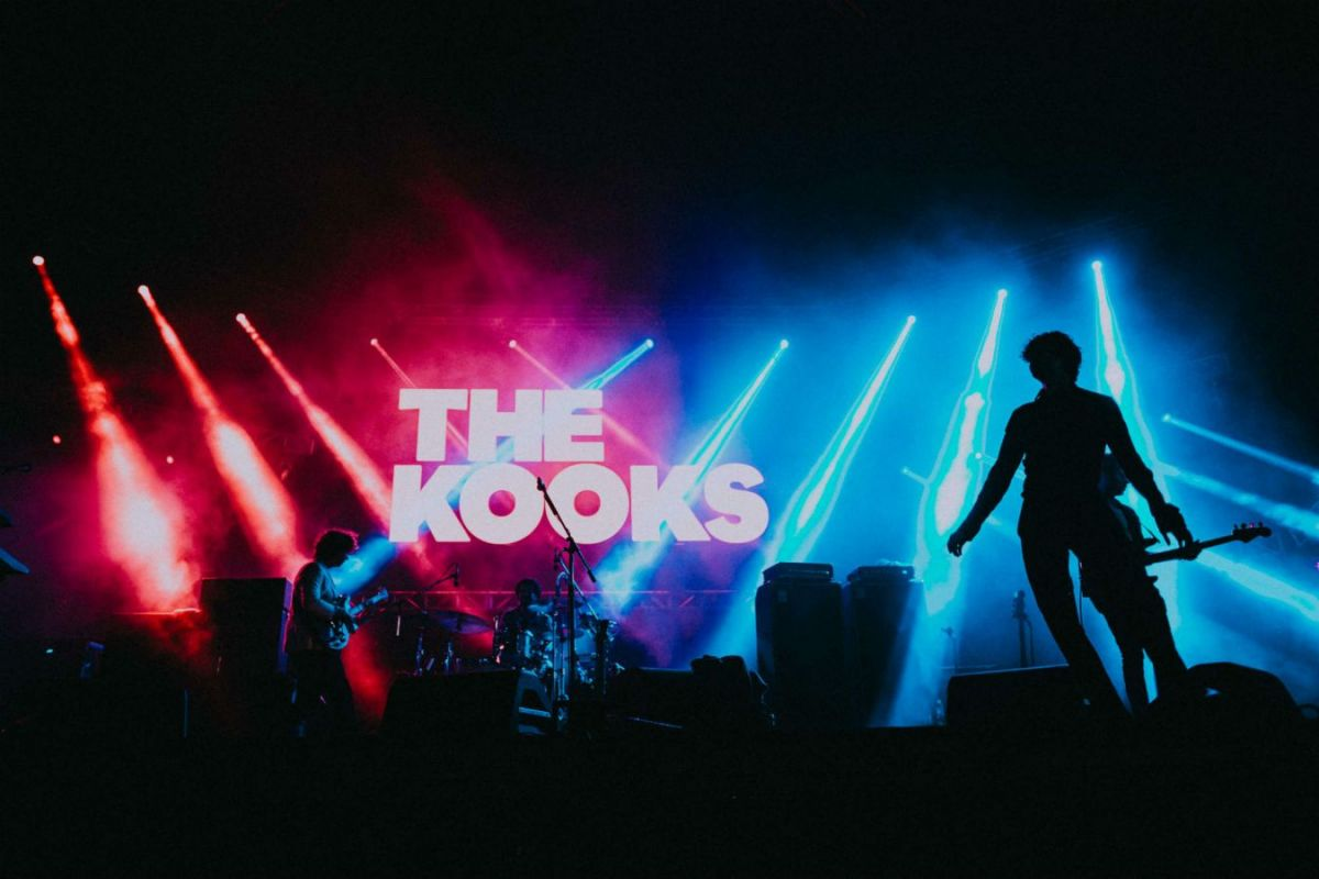 Praha, 19. května 2017 – The Kooks s …