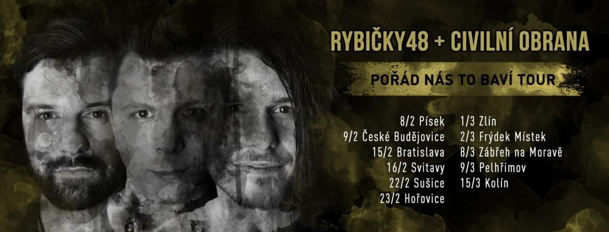 Jarní turné je tady: 8.2. Písek 9.2. České …