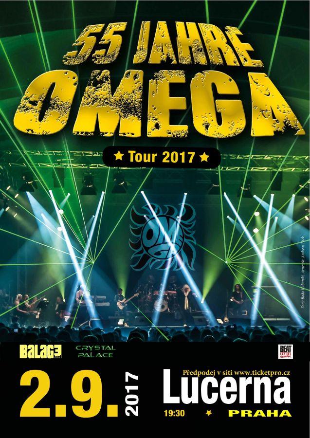Rozdáváme vstupenky na koncert kapely Omega!