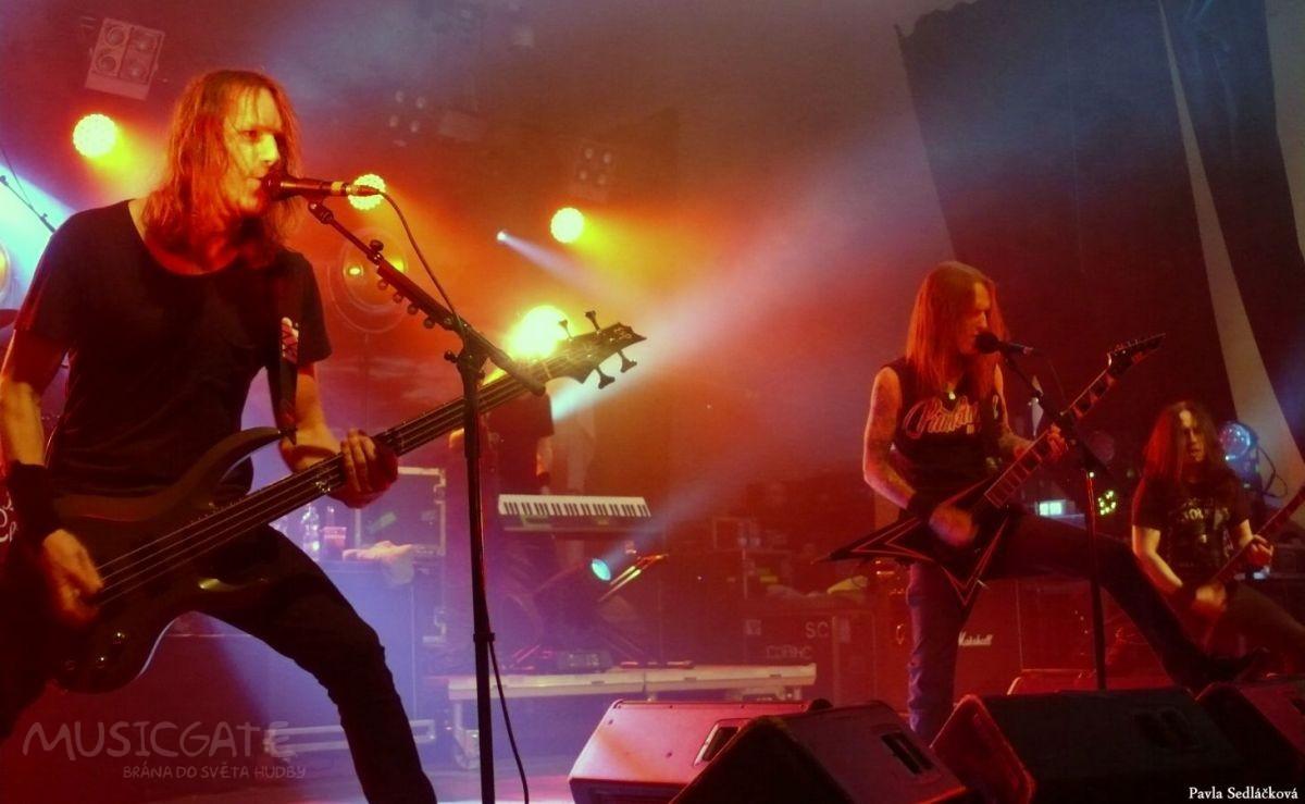 Children of Bodom oslavili 20. narozeniny. Zahráli v plzeňské Šeříkovce