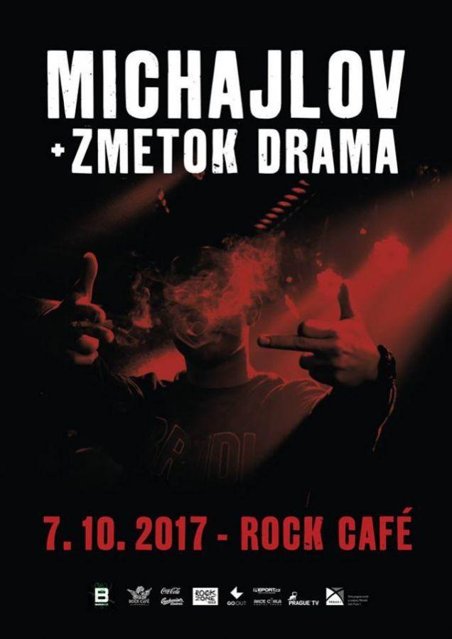 Michajlov a Zmetok Drama rozvíří pražské Rock Café