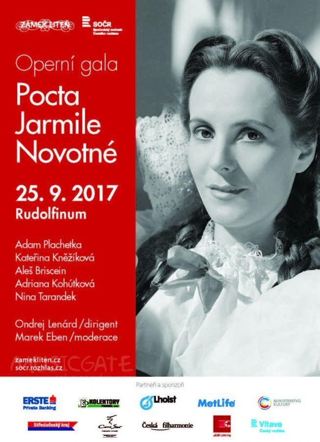 Operní gala Pocta Jarmile Novotné 2017