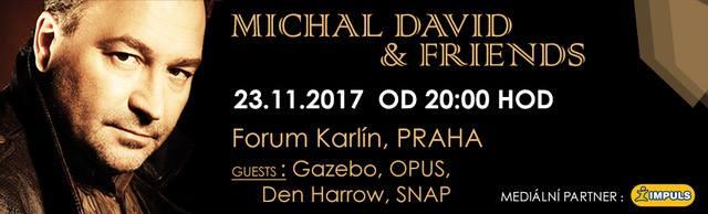 Koncert Michal David Friends