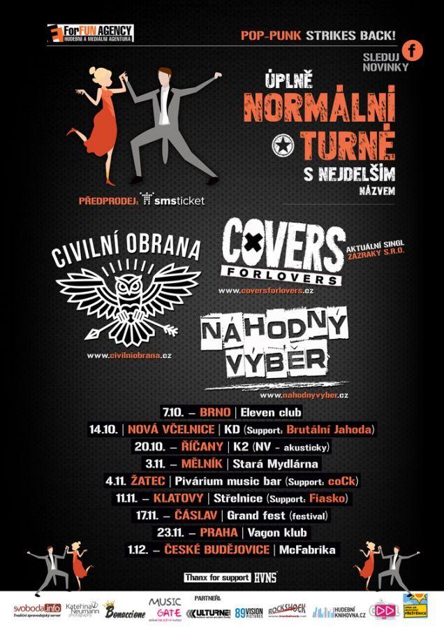 Soutěž o vstupenky na Úplně normální turné s nejdelším názvem!