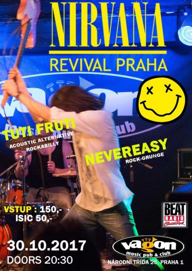 Nirvana Revival Praha opět ve Vagonu