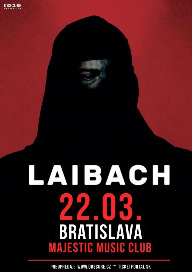 Laibach míří na Bratislavu