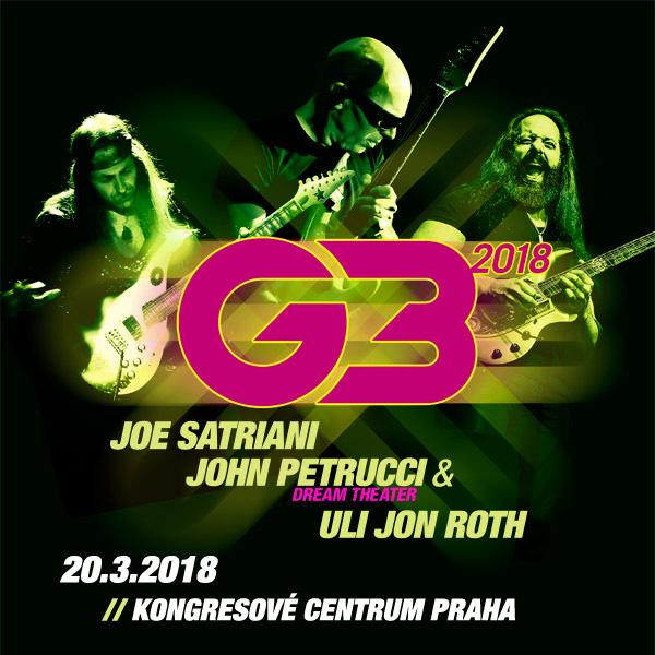 G3 přijedou podruhé do Prahy vyprodat Kongresové centrum