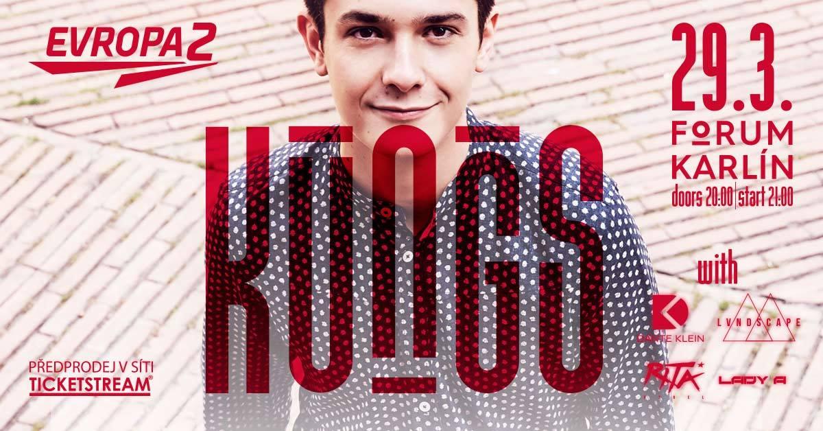 Francouzský DJ a producent Kungs poprvé vystoupí v České republice