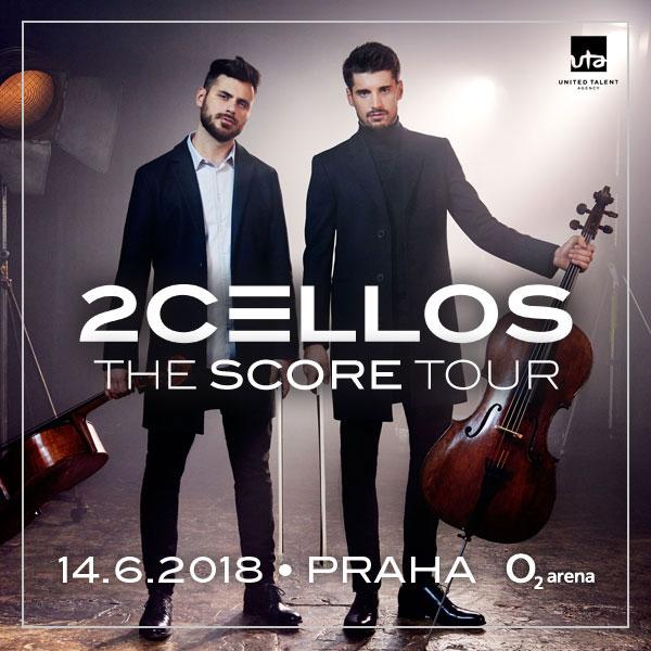 2CELLOS se vrátí do České republiky s albem slavných filmových melodií