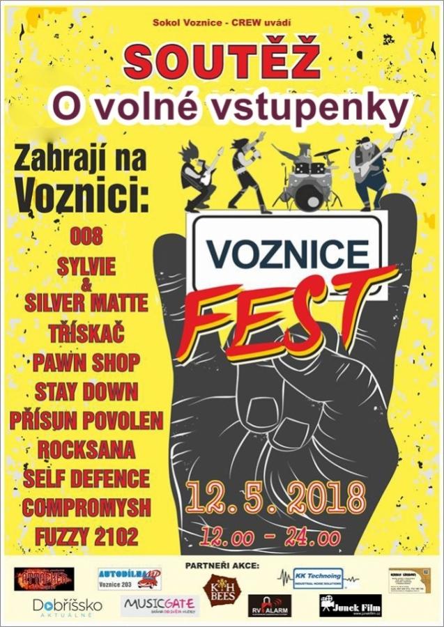 Soutěž o volné vstupenky na Voznice Fest