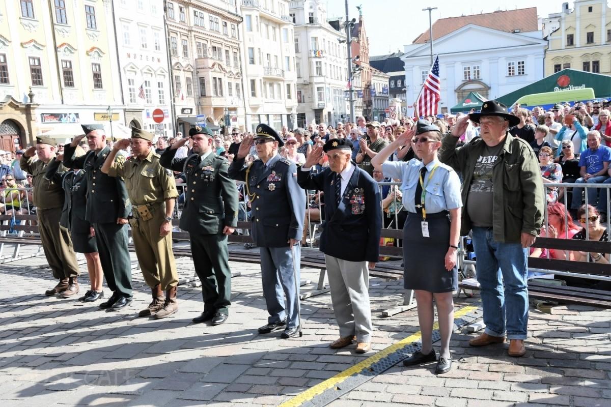 Rozezpívaná sobota na Slavnostech svobody  2018 v Plzni