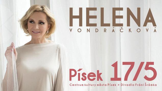 Helena Vondráčková přijede do Písku nejen zazpívat.