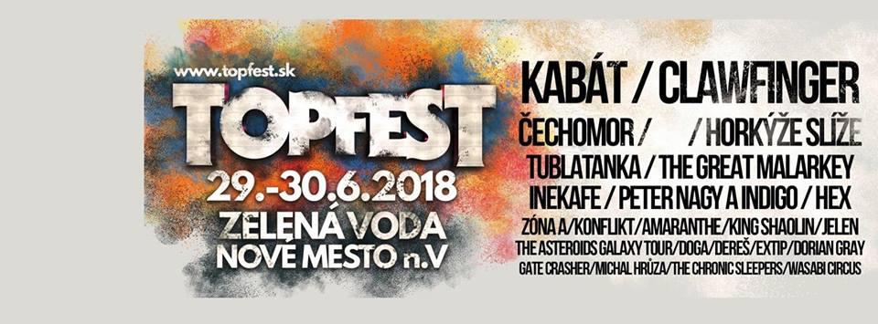 Po Cavalera Conspiracy a Limp Bizkit vystoupí na TOPFESTU na Zelené vodě kapely Amaranthe a Clawfinger