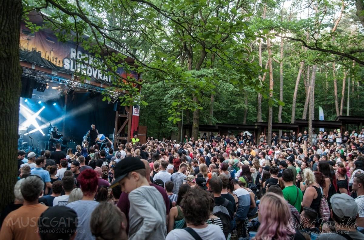 Les plný rockových hvězd – to byl Rockový Slunovrat 2018