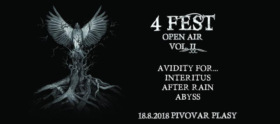 Metalový křest CD Restart skupiny Avidity for… je připravený v Knížecím Pivovaru Plasy