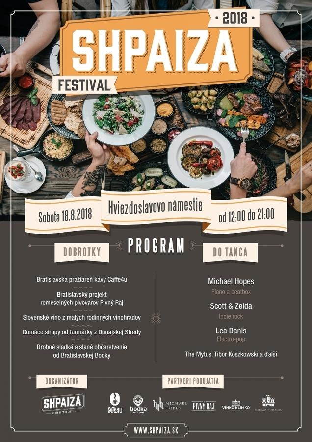 Michael Hopes připravil pro fanoušky vlastní festival SHPAIZA Fest, který nabídne lokální hudbu i lokální speciality