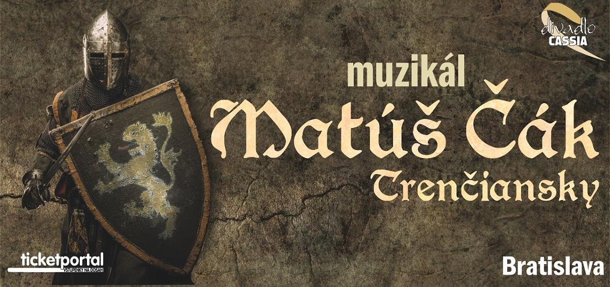Česká muzikálová hvězda Jiří Zonyga zazáří v muzikálu Matúš Čák Trenčiansky