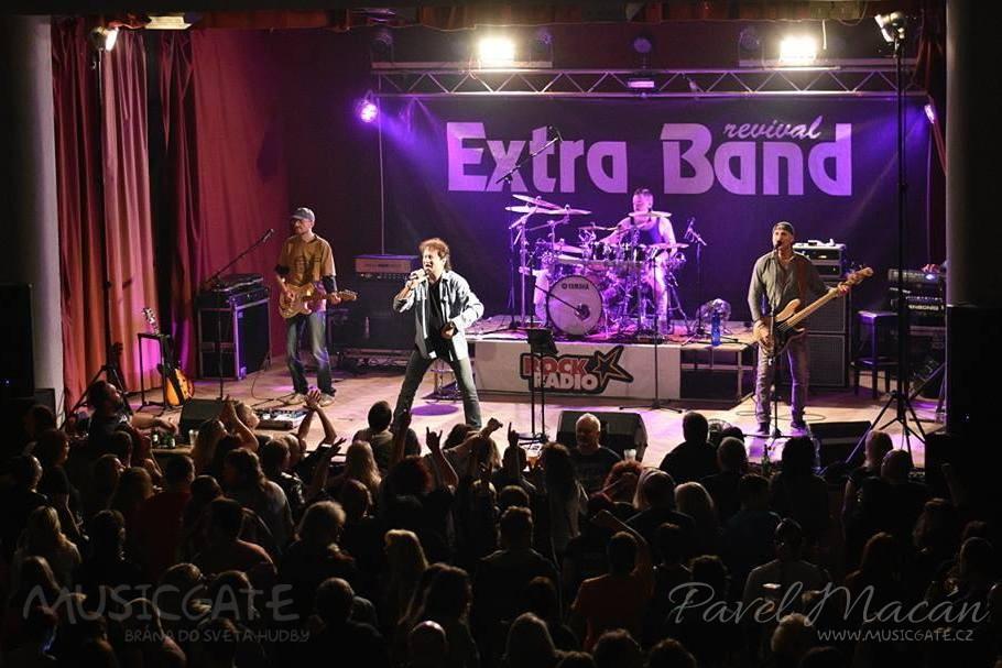 Západočeská rocková stálice Extra Band revival opět potěší Mrákov