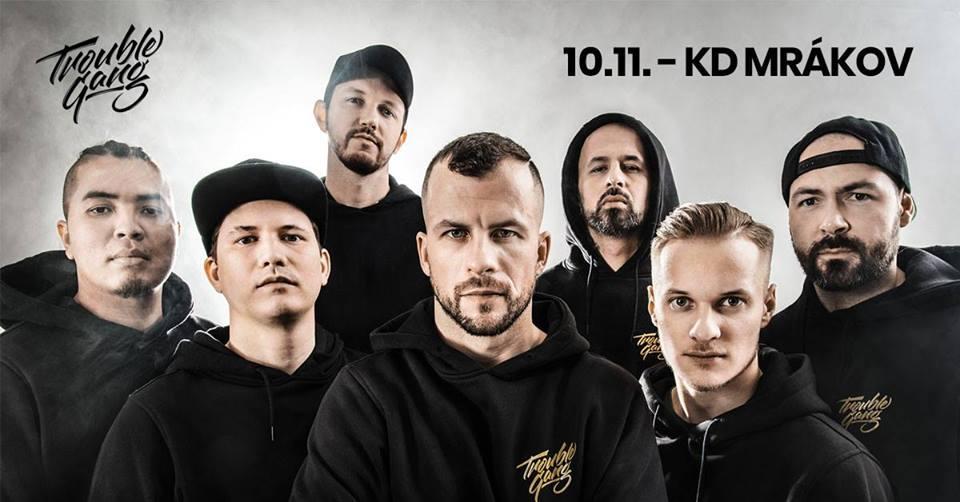MARPO a TroubleGang rozpoutají svou jedinečnou show v KD Mrákov u Domažlic!