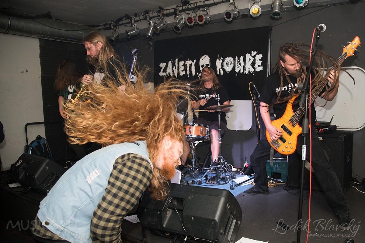 Underground Undead Fest otevřel pekelnou metalovou bránu