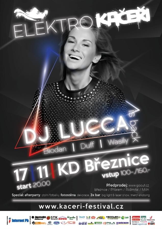 Elektro Kačeři přináší sváteční mejdan s DJ Luccou