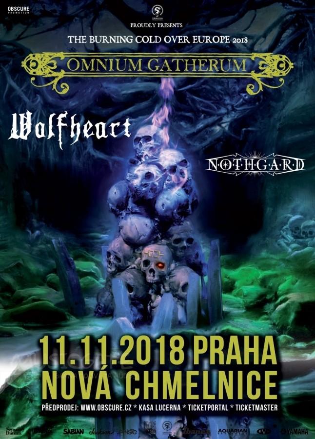 OMNIUM GATHERUM + WOLFHEART + NOTHGARD 11.11.2018 PRAHA / NOVÁ CHMELNICE