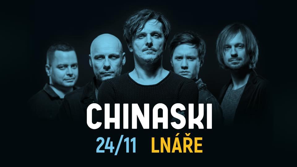 Chinaski zmenší festivalovou show a vyrazí s ní do Lnář