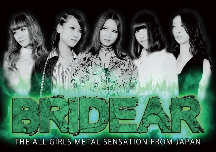 Metalový večer v Divadle pod lampou přivítá japonské Bridear