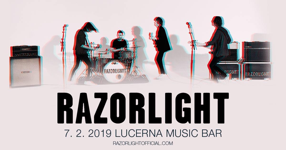 """Britští """"indie-rock heroes"""" Razorlight poprvé v České republice!"""