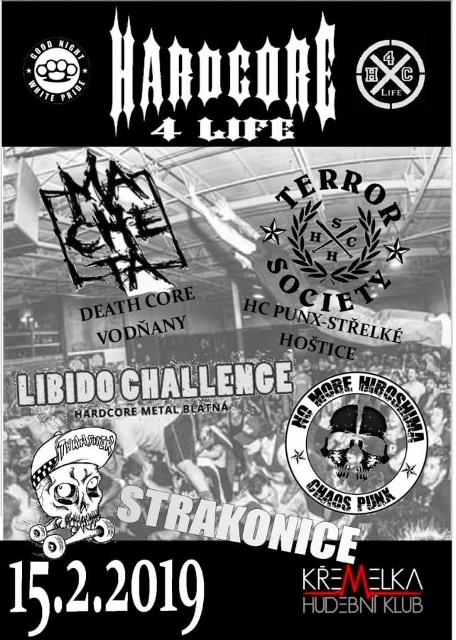 Ve strakonickém klubu zaduní Hardcore 4Life