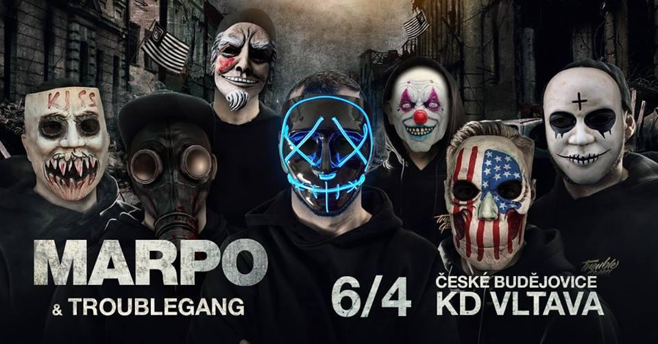 MARPO & TroubleGang - ČB - 6.4. KD Vltava