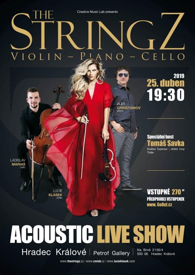 The Stringz - nadčasová crossover hudební show v Hradci Králové