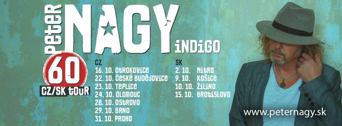 PETER NAGY 60 CZ / SK TOUR.