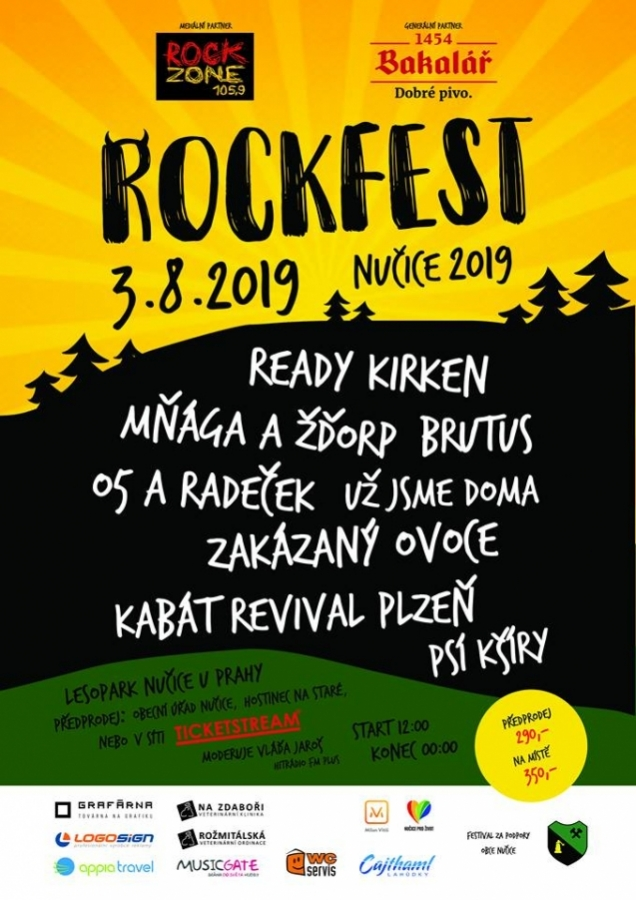 Rockfest Nučice u Prahy 2019