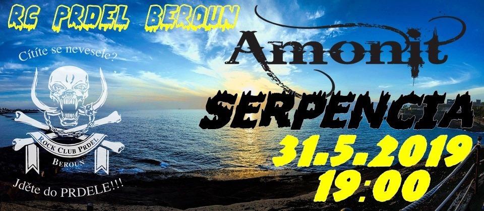 V RC Prdel zahraje Serpencia, Amonit představí nové CD