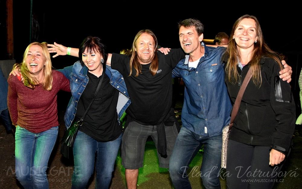 Odyssea rock si svými legendárními hity opět získala parket AMFI Tlumačov!