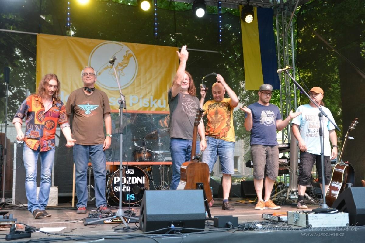 Na slavnostech Písku vystoupily hvězdy českého hudebního nebe.