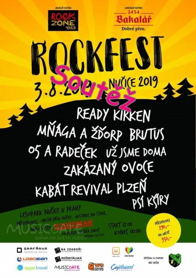 Soutěž o 10 vstupenek na Rockfest Nučice