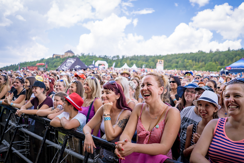 Hudební festival Hrady CZ startuje tento pátek a sobotu na Točníku a po šesti letech hlásí návrat kapely Kryštof