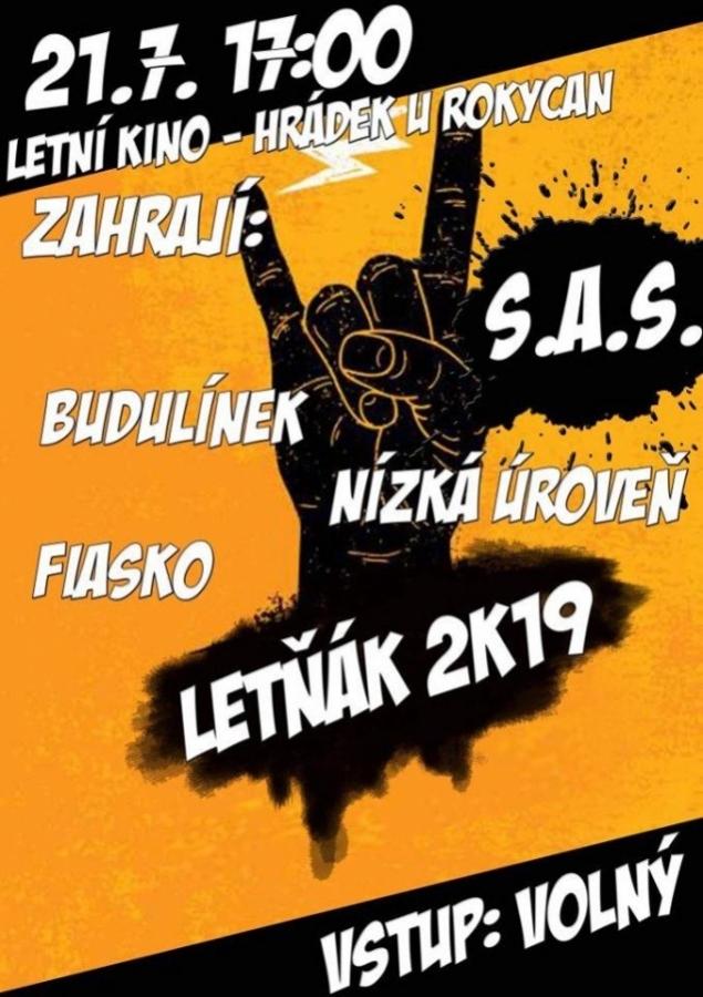 Nedělní Letňák 2K19 bude mít punkového tahouna