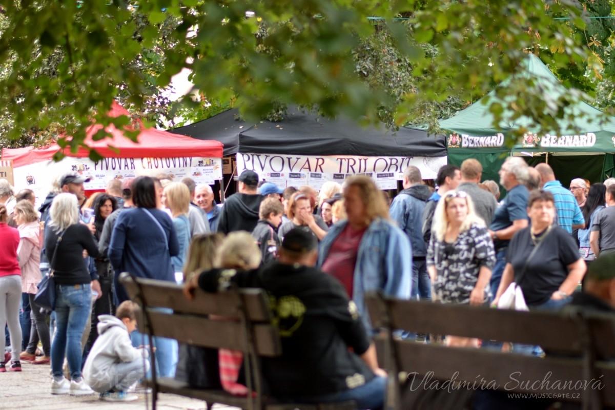 Gastro festival Slavnosti piva - dobře namíchaná směsice kvalitního pití, jídla, hudby i designu