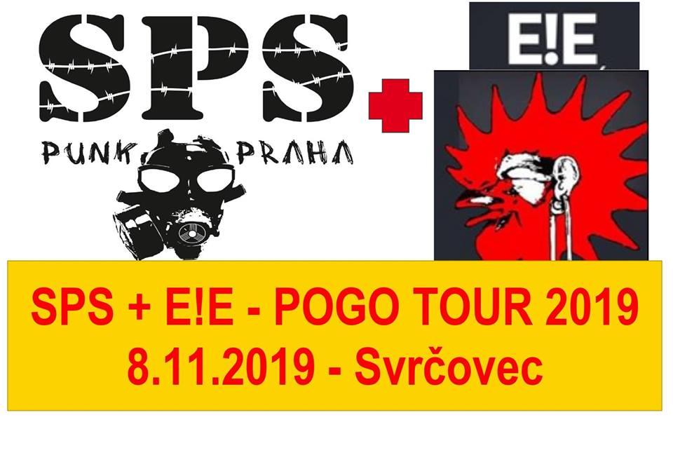 SPS a E!E aneb Pogo Tour 2019 zboří KD Svrčovec