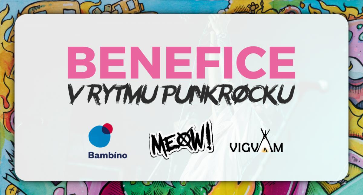 Kapela MEOW! pomůže Beneficí v rytmu punkrocku dětem, kterým zemřela blízká osoba