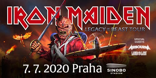 Iron Maiden se vrací do Prahy po dvou letech