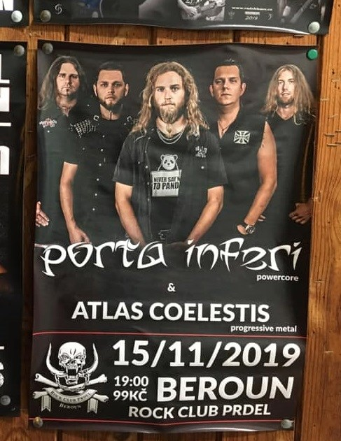 Metalový večírek v RC Prdel Beroun