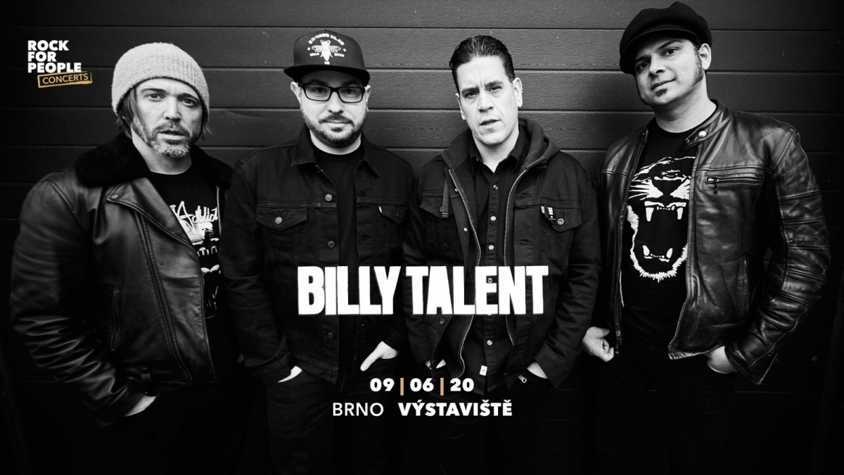 Billy Talent se chystají na Moravu